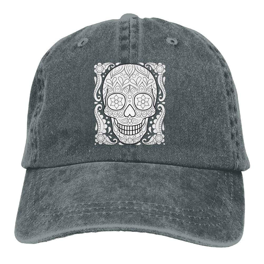 Gorras de béisbol de Sugar Skull Personalizadas Disponibles ...