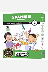 Spanish for Kids: 10 Early Beginner Reader Books with Online Audio and English (Set 2) Paperback