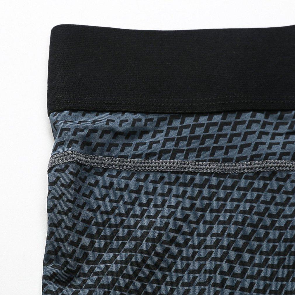 Yuerlian Men Elastic Tight Short Pants Sports Pants Exercise Training Short
