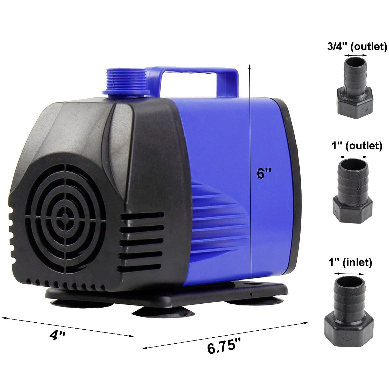 Amazon AQUANEAT 1450 GPH Submersible Water Pump Powerhead