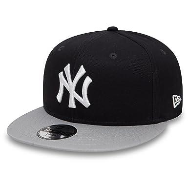 New Era Unisex-Kinder Caps Snapback Cap Essential NY Yankees 9Fifty Blue  Youth 8ead2f7b5339