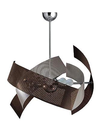 La Luce del Futuro Lampe de plafond à 6 lumières moderne ...