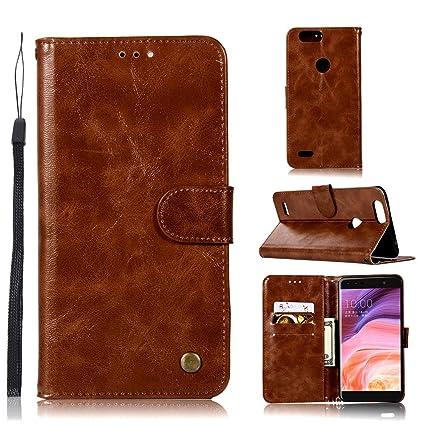 best cheap 1a385 ec366 Amazon.com: Luckyandery ZTE Blade Z Max (Z982) Wallet Case with ...