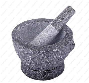 amazon stone granite mortar and pestle 8 in 3 cup capacity