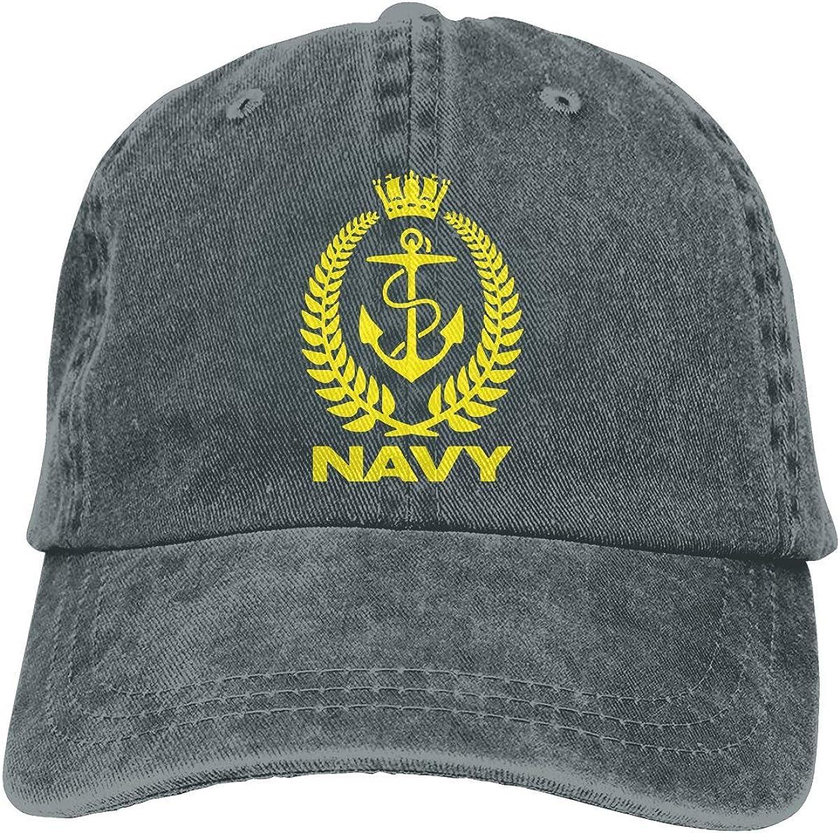 Royal New Zealand Navy Unisex Baseball Hat Cowboy Cap Sun Hats Trucker Hats