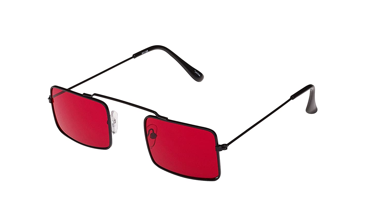 774c3fd34c6ea6 Revive Eyewear - Lunettes de soleil - Homme Rouge Rouge noir  Amazon.fr   Vêtements et accessoires