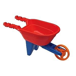American Plastic Toys Wheelbarrow (Colors may vary)