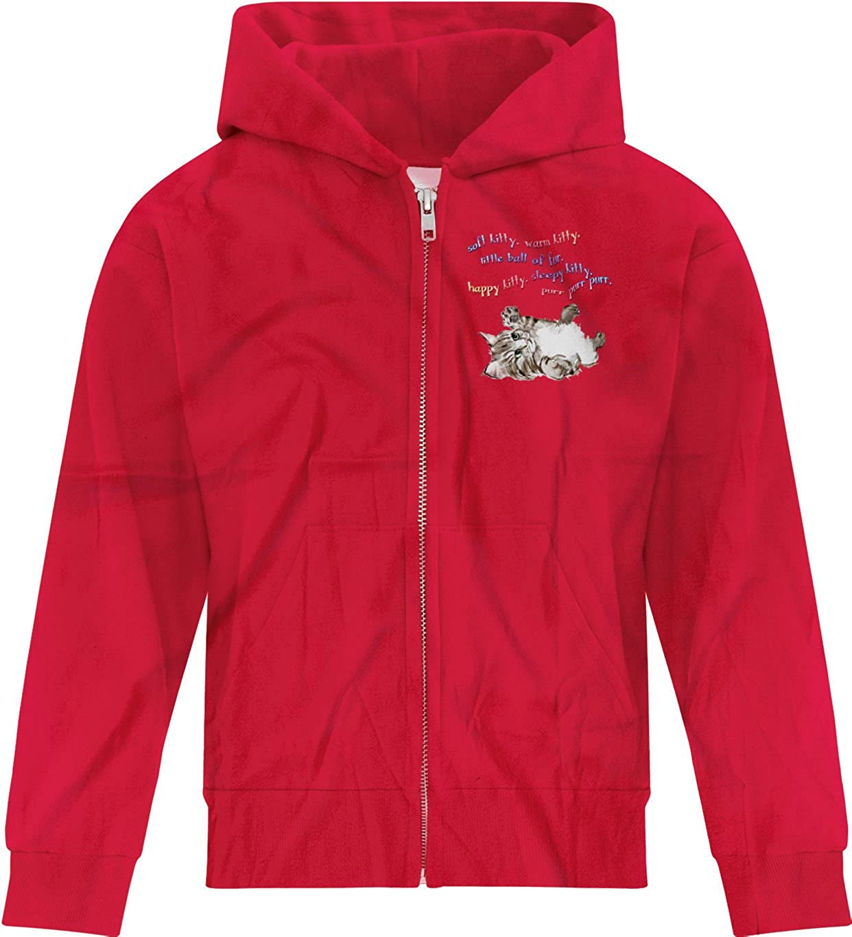 BSW Youth Boys Soft Kitty Sheldon Cooper Big Bang Theory Song Zip Hoodie