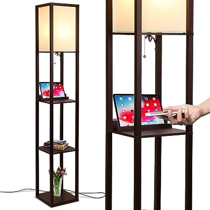 Amazon.com: Brightech Maxwell - Lámpara LED de pie para ...