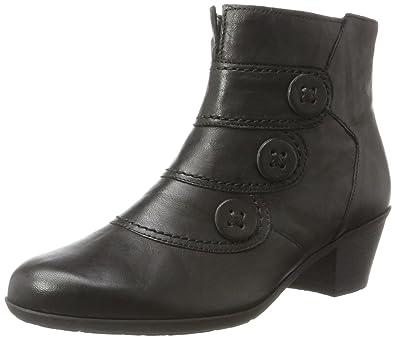 Gabor Shoes Gabor Basic, Bottes Femme, Noir (57 Schwarz Schwarz), 39 EU