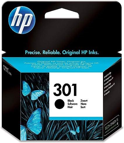 HP CH561EE 301 Cartucho de Tinta Original, 1 unidad, negro: Hp ...