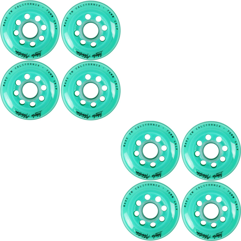 Labeda Inline Roller Hockey Skate Wheels Addiction Teal 76mm Set of 8