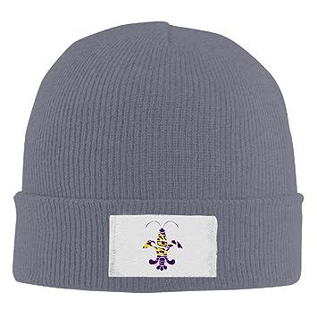 cec344db ... australia nvvm lsu tiger eye logo men women knitted beanie cap hat skull  cap hat asphalt