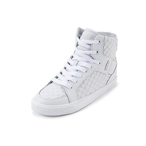 Zumba Footwear Zumba Street Boss, Zapatillas Deportivas para Interior para Niñas, Blanco (White