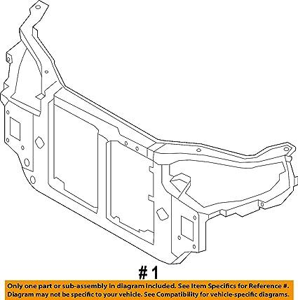 Amazon Com Genuine Kia 64101 1m000 Radiator Support Assembly