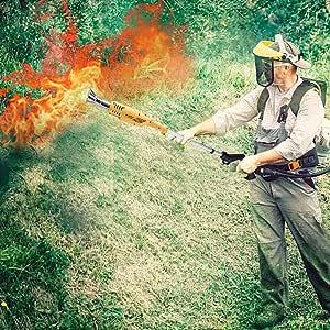 xiliary Quemador de Herbicidas de malezas, Quemador de Malas Hierbas Eléctricas, Herbicida térmico eléctrico para jardín, Patio, Entrada de Garaje - 2000W / 230V, hasta 650 ° C admired: Amazon.es: Hogar