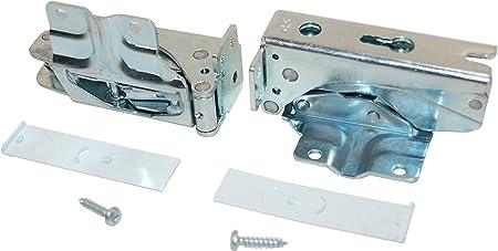 Charnières de porte pour réfrigérateur-congélateur Bosch Siemens 4 charnières