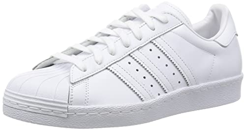 sneakers for cheap bc24a 9e70f adidas Superstar 80S, Sneaker Uomo, Bianco Footwear White Core Black, 40 2