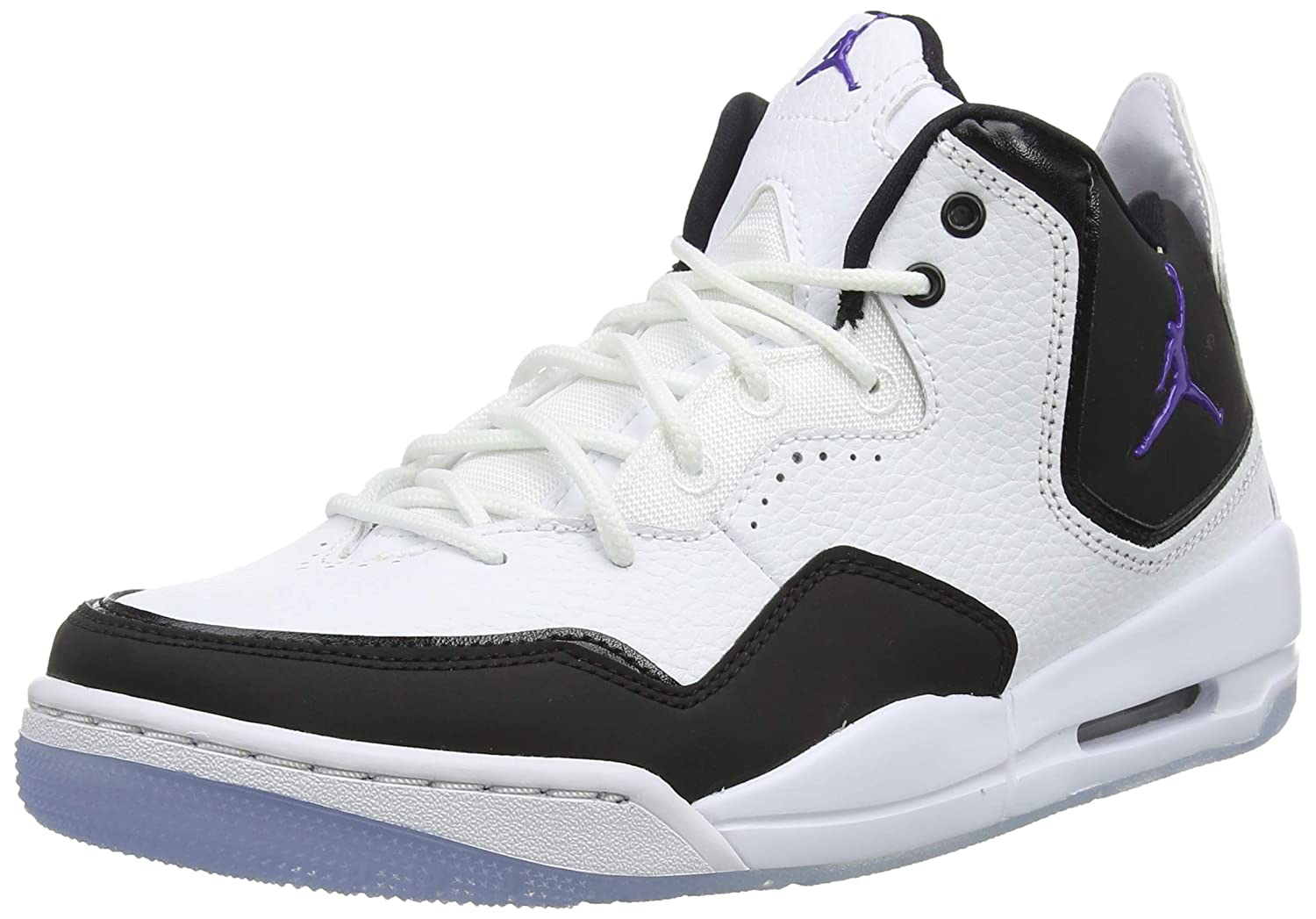 Amazon.com | Nike Jordan Courtside 23 White/Dark Concord-Black | Basketball
