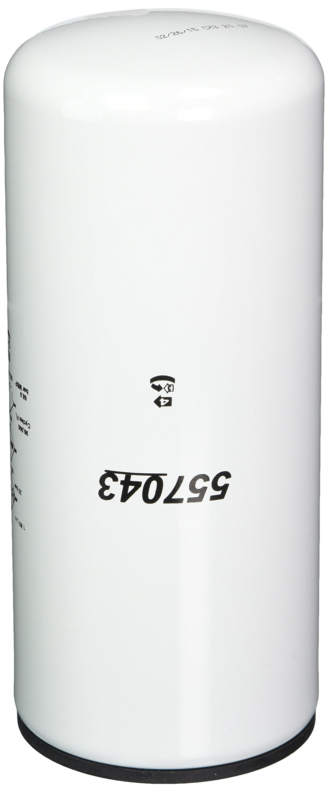 WIX Filters - 57043 Heavy Duty Spin-On Hydraulic Filter, Pack of 1