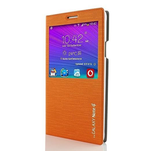 28 opinioni per Custodia portafoglio Galaxy Note 4 [ Cross Pattern- Original Urcover® ] Custodia
