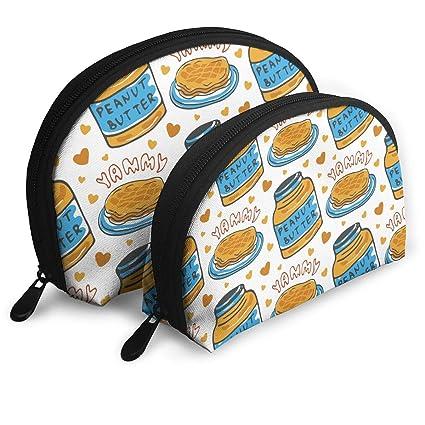 Amazon.com: Yammy Peanut er 2 Piece Set Cosmetic Beauty Bag ... on amazon home, amazon hammocks, amazon fire pits, amazon wall art, amazon lamps,