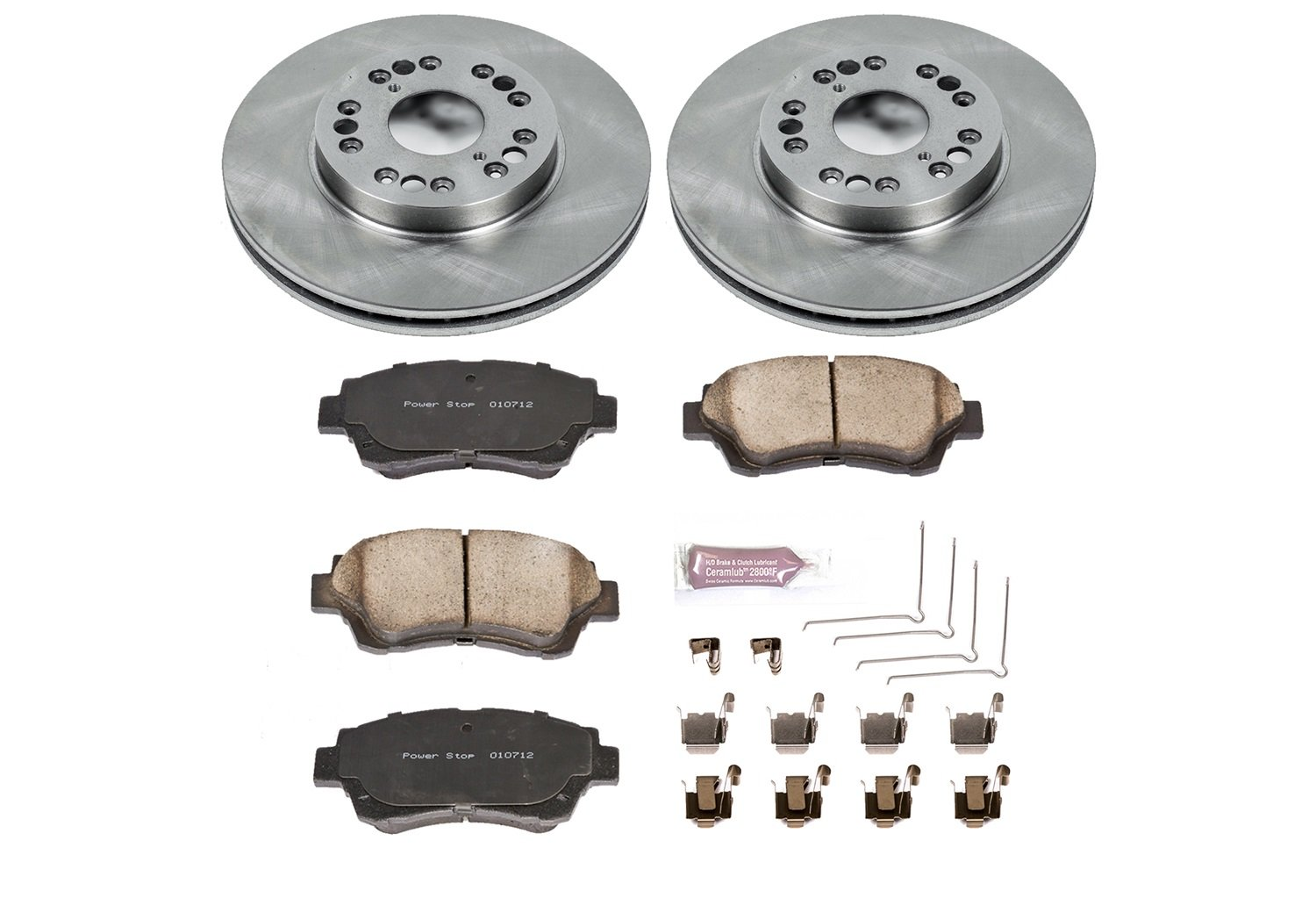Autospecialty (KOE5384) 1-Click OE Replacement Brake Kit by Power Stop