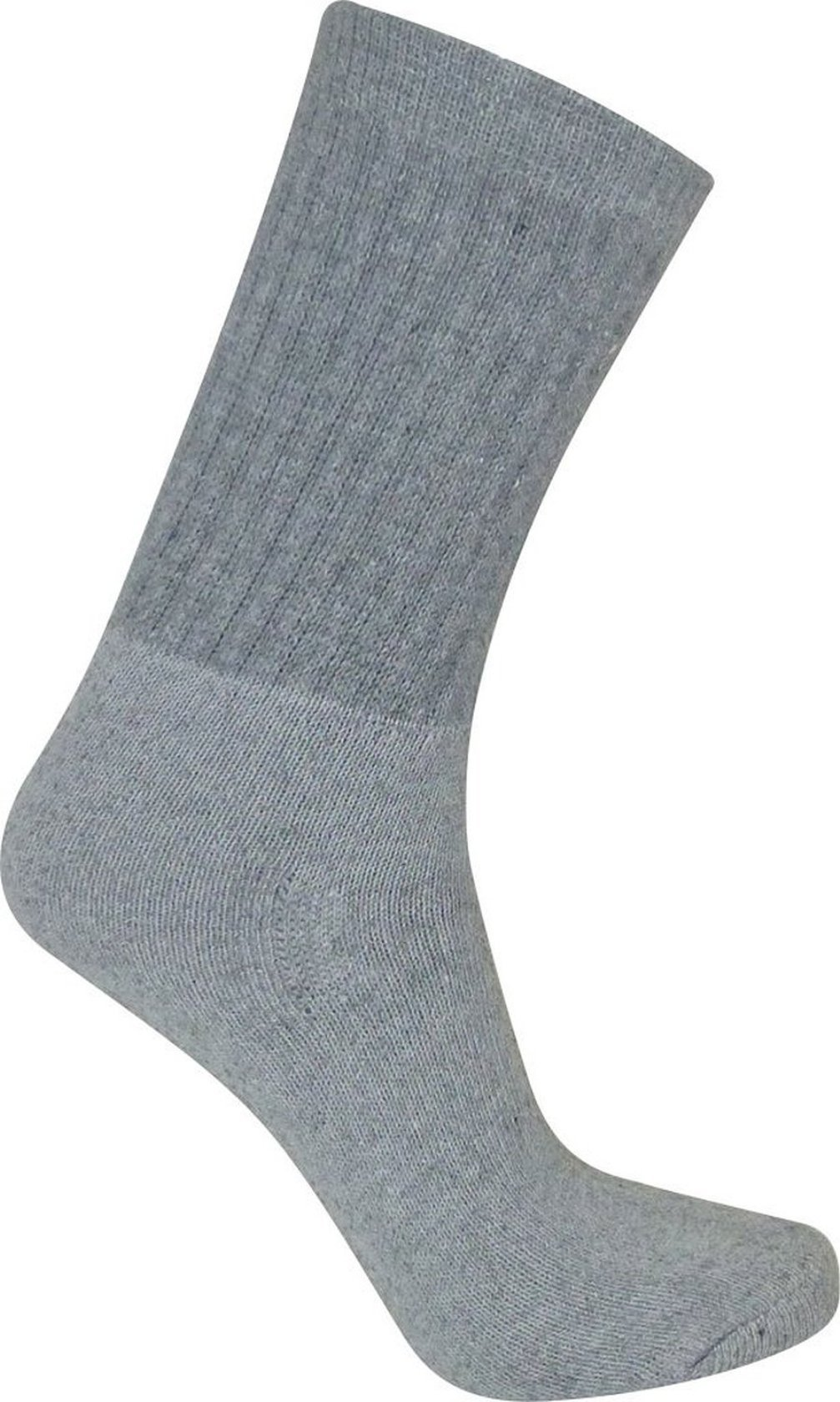 Davido Mens Socks crew made in italy 100% cotton 8 pairs (10-13, gray crew socks)