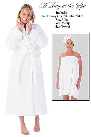 2062fc44ca Fishers Finery Women s EcoFabric Five Star Spa Set  Robe