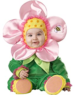 Amazon incharacter baby blossom costume toys games baby blossom flower costume size infant 6 12m mightylinksfo