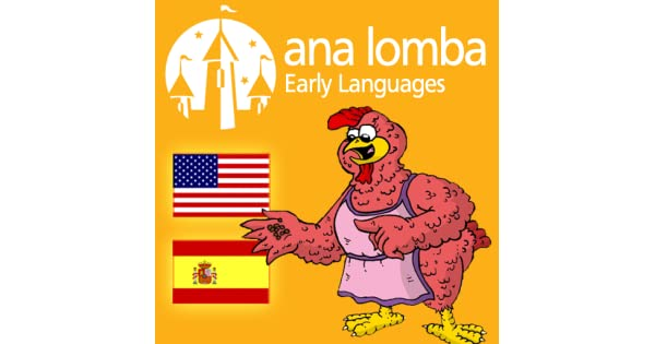 Amazon.com: Ana Lomba – Little Red Hen (Bilingual Spanish ...