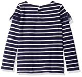 Nautica Girls' Little Long Sleeve Fashion Top, Navy