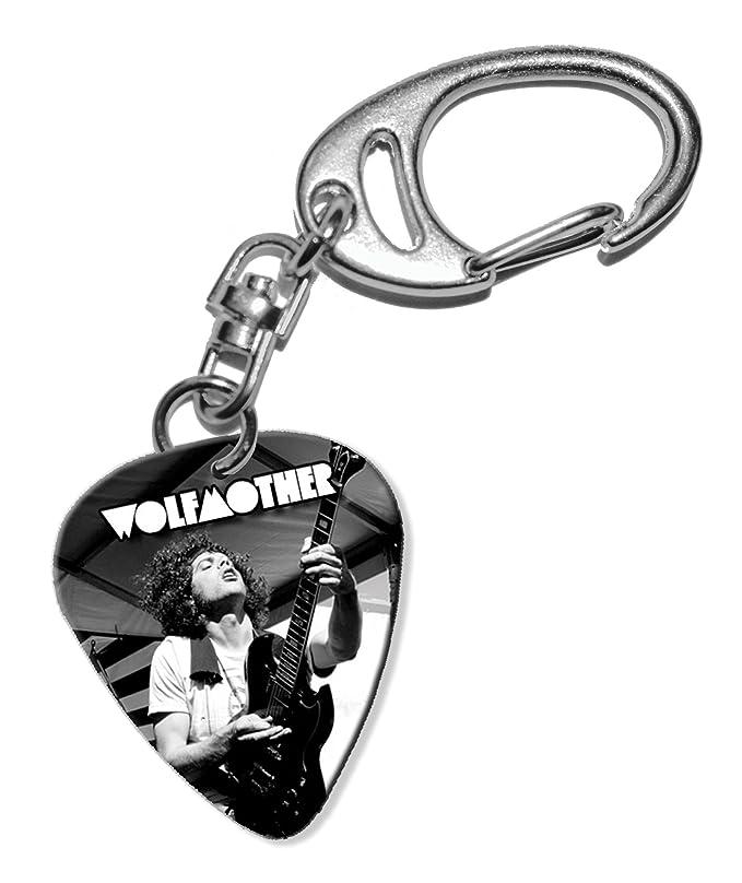 Wolfmother Guitarra Plectro Keyring Llavero (F1): Amazon.es ...