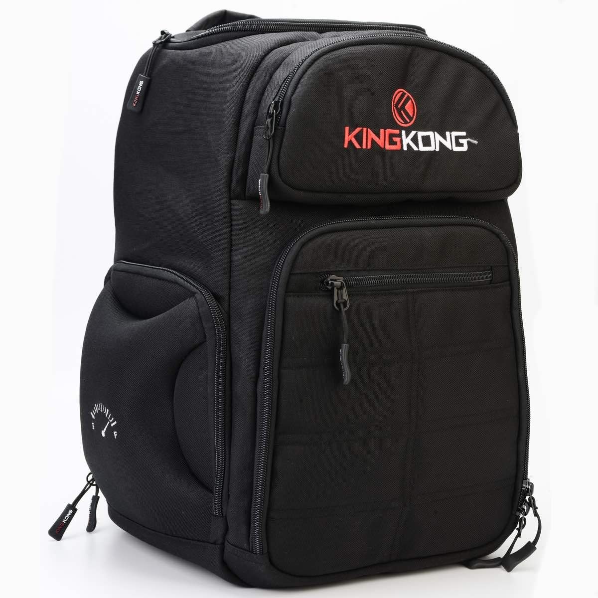 King Kong Fuel Meal Prep Backpack - Insulated Thermal Polyester Lunch Bag, Military Spec Nylon with Two Reusable Ice Packs - Black by King Kong (Image #7)