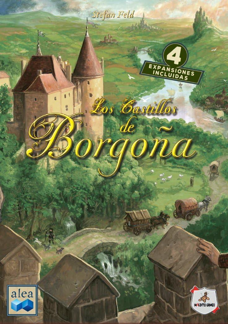 Los castillos de Borgoña [Maldito Games]: Amazon.es: Juguetes y juegos