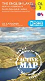 Ordnance Survey Explorer Active OL5 The English Lakes - North Eastern Area Map With Digital Version