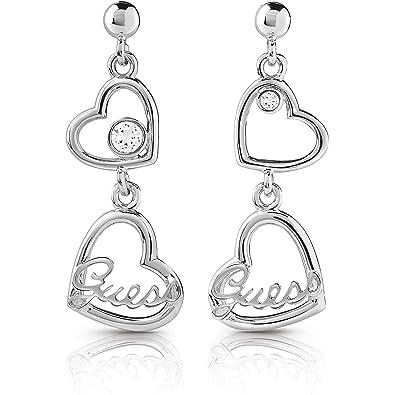 fd53a0615 Women's Earrings Guess Princess Hearts UBE85073: Amazon.co.uk: Jewellery