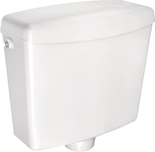 Toilettenspülung //... Cornat Spülkasten FARO weiß Start-//Stopp-Spülung