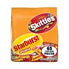 SKITTLES & Starburst Fun Size Variety Mix 31.9-Ounce Bag 65 Pieces