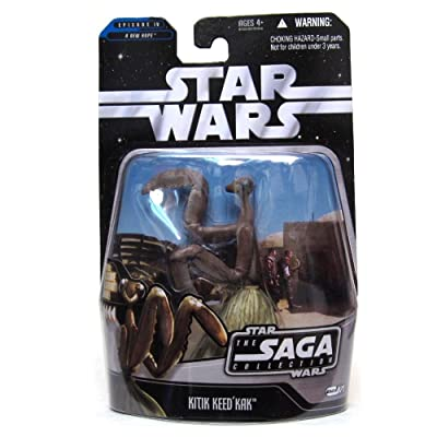 Star Wars: The Saga Collection Wave 10 Kitik Keedkak (#71) Action Figure: Toys & Games