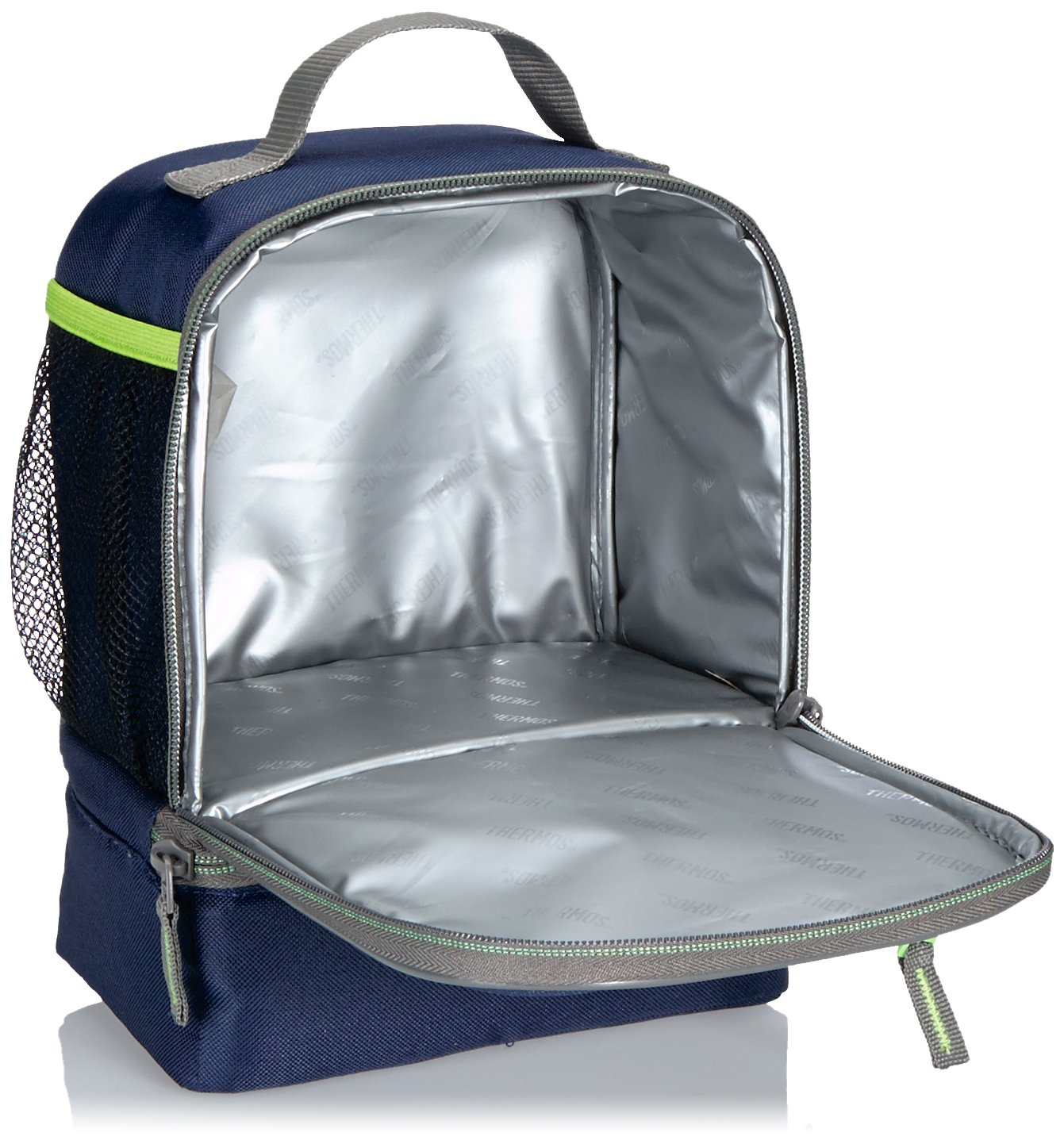 494f60910b36bc Thermos Radiance Dual Compartment Lunch Kit, Navy: Amazon.co.uk: Kitchen &  Home