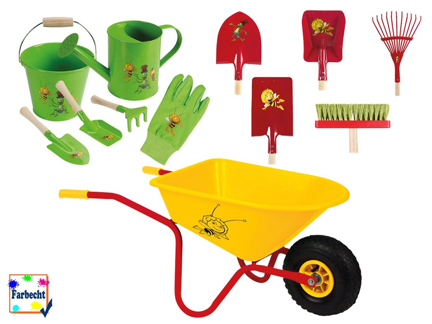VELLEMAN Großes Gartenspielzeug-Set für Kinder -DIE BIENE MAJA-