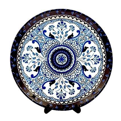 Kolorobia Pristine Turkish Decorative Plate 7.5 inches