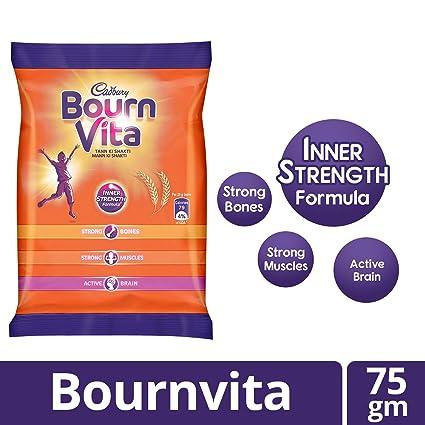 calories in 1 glass milk with bournvita