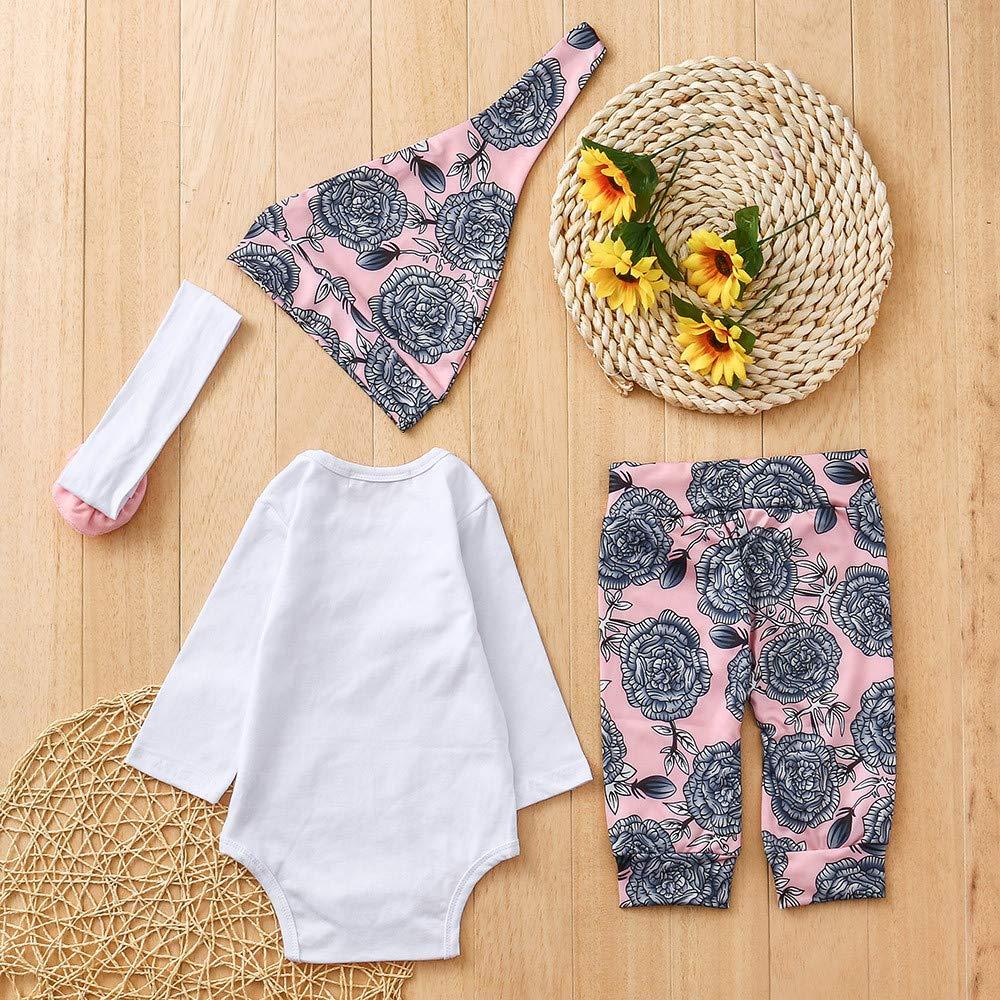 Memela Baby Clothes,Newborn Infant Baby Boys Girls Letter Tops Shirt+Print Pants Outfits Sets