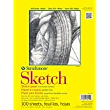 Strathmore STR-350-14 100 Sheet Sketch Pad, 14 by 17""