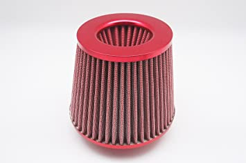 """For Mitsubishi 3/"""" Air Filter Dry Cone Direct Replacement Bolt On Intake New Red"""