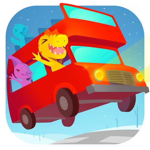 Dinosaur Bus Free - Car and Truck Simulator Games for kids