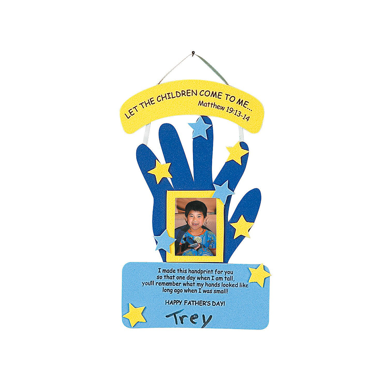 Father's Day Handprint Craft Kit