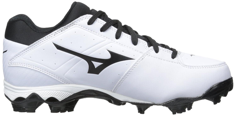 Mizuno Women's 9 Spike ADV Finch Elite 2 Fast Pitch Molded Softball Cleat B00VTFJGK0 7.5 B(M) US|White/Black